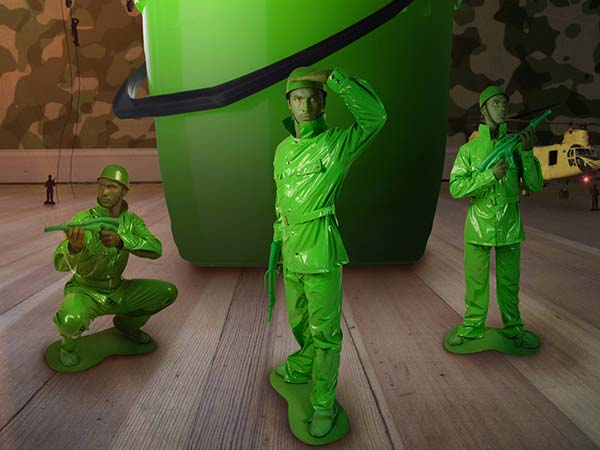 Freelance Visuals Effects Morphsuits
