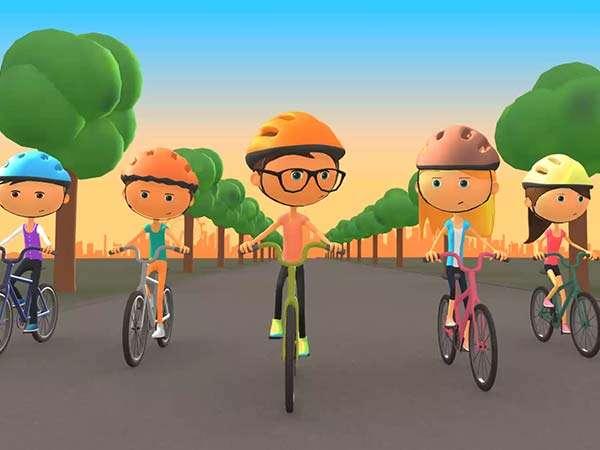 TFL Bring Your Bike 3D character animation motion graphic designer