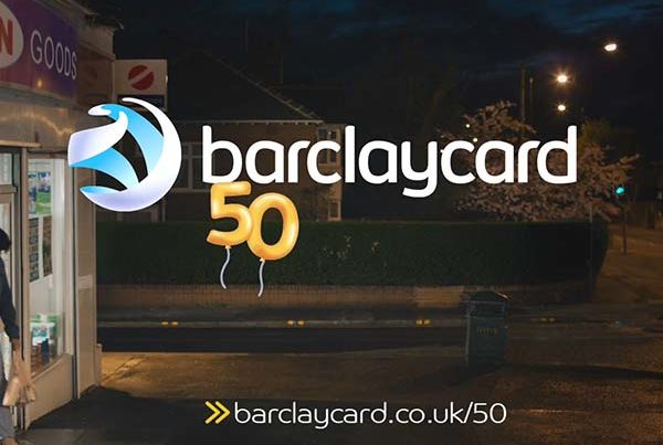 Barclaycard 50 years freelance motion graphics designer TV advertisement