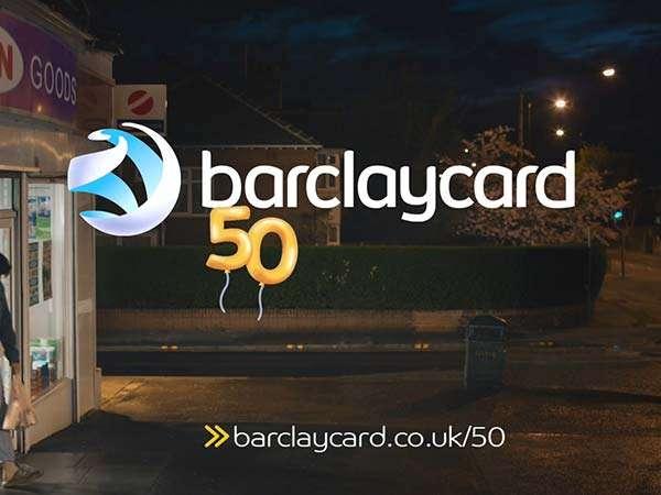 Barclaycard 50 years freelance motion graphics designer TV advertisement