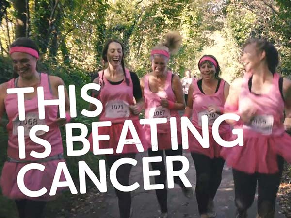 Cancer Research UK campaign video freelance motion graphic designer