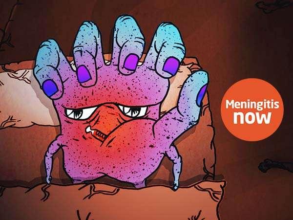 Meningitis Now charity awareness video freelance video animation