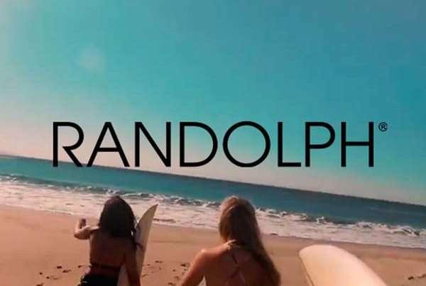 Randolph Sunglasses campaign video tv advertisement Randolph Sunglasses Freelance Motion Graphics
